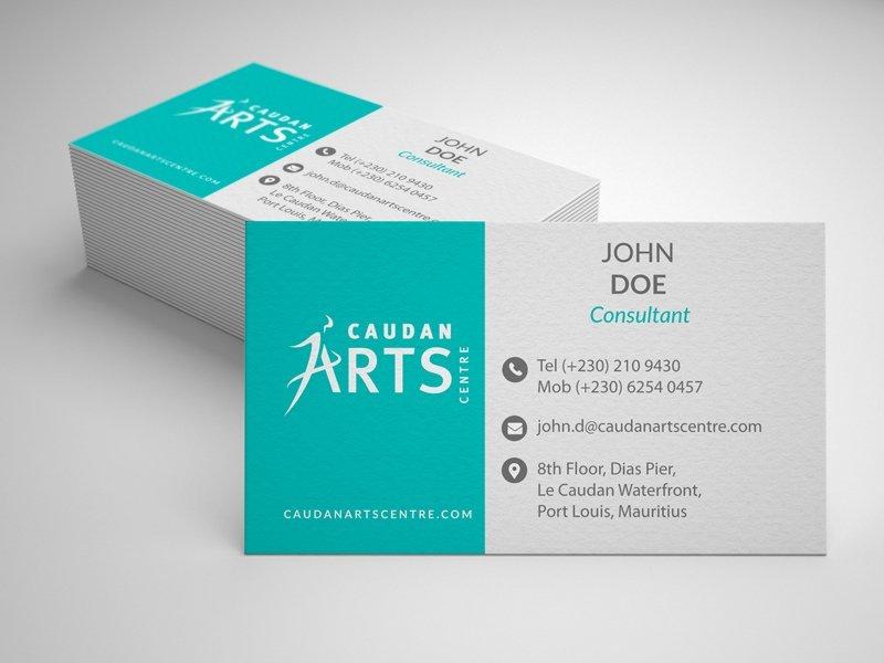 Business Card Caudan Arts Centre Priscille Meygret